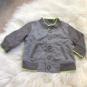 Cherokee baby boy sweater jacket